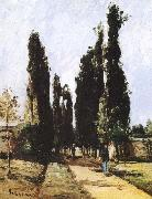 Camille Pissarro Avenue oil painting reproduction